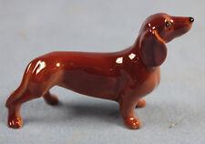 Dackel dachshund hund tier porzellanfigur Porzellan figur hagen renaker