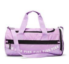 VICTORIA'S SECRET PINK GYM DUFFLE BAG PURPLE PETAL - NEW!
