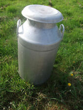 ALUMINIUM MILK CHURN 10 GALLON ++++++++++++++++++++++++++++++++++++++  WITH LID