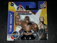 "WWE ""THE ROCK"" THUMBpers Action Figure Series 2 Thumb Wrestler"