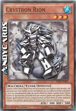 3x Crystron Rion ☻ Comune ☻ RATE IT020 ☻ YUGIOH ANDYCARDS