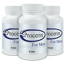 3 X Procerin Tablets Men Regrowth Thinning Hair Loss Herbal Natural *AUTHENTIC*