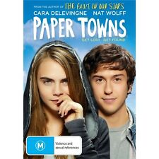 PAPER TOWN-Nat Wolff, Cara Delevingne-Region 4-New AND Sealed