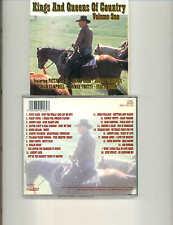 VARIOUS ARTISTS - KINGS & QUEENS OF COUNTRY (Vol 1) - 1994 UK  CD ALBUM