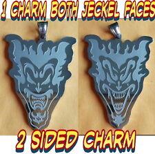 2 SIDED JAKE JACK JECKEL CHARM icp Insane Clown Posse Charm twiztid rare jersey