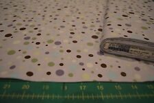 1 YD ROBERT KAUFMAN PIMATEX BASICS BKT-8996-23 LAVENDAR DOT NEW QUILT COTTON BTY