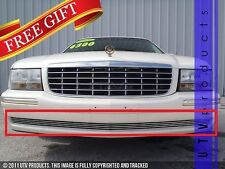 GTG, 1997 - 1999 CADILLAC DEVILLE 1pc CHROME BUMPER BILLET GRILLE KIT