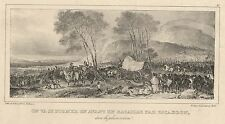 Nicolas-Toussaint Charlet - Early 19th Century Lithograph, Battle Scene