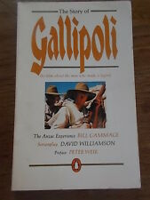 THE STORY OF GALLIPOLI the film about the men who made a legend Penguin Books