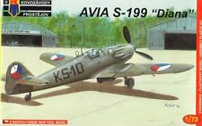 Kovozavody Prostejov 1/72 Model Kit 7208 Avia S-199 'Diana' Early CzAF