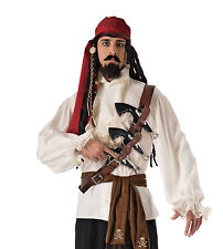 ADULT PIRATE GUN BELT FANCY DRESS CARIBBEAN ACCESSORY
