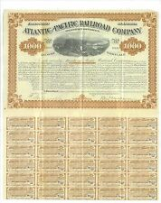 ATLANTIC AND PACIFIC RAILROAD COMPANY.........1880 MORTGAGE BOND