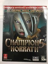 Champions of Norrath Prima's Official Strategy Guide PlayStation 2 New