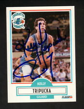 Kelly Tripucka Autographed Card--Charlotte Hornets