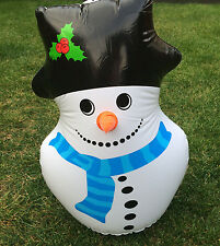 SNOWMAN AIRBLOWN INFLATABLE CHRISTMAS DECORATION TOY BLOW UP XMAS GIFT PRESENT