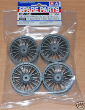 Tamiya 51046 Medium-Narrow 18-Spoke Wheels (Offset 0) (TA05/TA06/TA07/TB02/TB03)