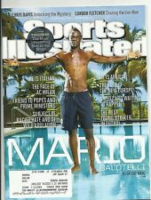 SPORTS ILLUSTRATED 8-26-2013 MARIO BALOTELLI - THE BEST YOUNG STRIKER IN FUTBOL!