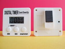 LCD Digital Timer. Super loud Alarm.With clip and built in Stand. Counts 99.9M *