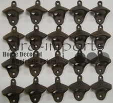 15 Rustic Cast Iron OPEN HERE Wall Mounted Beer Bottle Opener Soda FREE SHIPPING