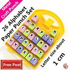 Lettera Alfabeto in metallo Die Punch Set per della carta artigianale Fai da te Scrapbook POST CARD