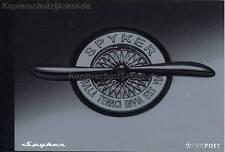 Pays-Bas - 2004 prestige markenheft 66 auto car spyker ** - MH 02/2004
