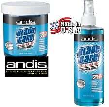 Grooming ANDIS CLIPPER BLADE COOL CARE PLUS SPRAY & DIP KIT-Coolant/Lube/Cleaner