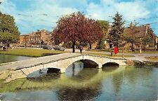 BR66241 bourton on the water river windrush   uk  14x9cm
