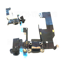 NEW IPHONE 5 BLACK CHARGING DOCK AUDIO SOCKET MIC CONNECTOR FLEX CABLE PART
