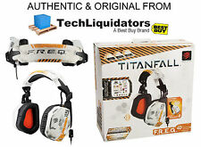 Genuine Mad Catz Titanfall F.r.e.q.4d Stereo Headset For Pc, Mac, Smart Device