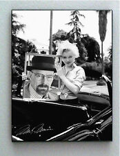 Framed Marilyn Monroe holds Breaking Bad Walter White Heisenberg faux autograph