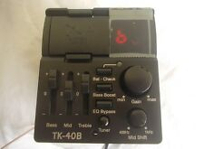 """TAKAMINE TK-40B """"G"""" Series preamp equalizzatore tuner + cornice x basso acustico"""