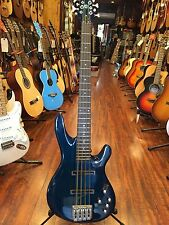 2017 Wolf 8 String Bass Solid Ash Whale Blue