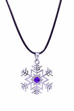 Vocaloid Family Cosplay Costume Accessory Hatsune Miku Snowflake Necklace V1