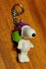 Vintage Halloween Collectible. Snoopy in costume with Pumpkin treat bag.