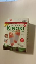 Kinoki Herbal Detox Foot Pads 10 New in Box 10 Detoxification Cleansing Patches