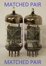 ECC85 TELEFUNKEN    1 MATCHED PAIR, 2 PIECES TOTAL  MULTI OFFER VALVE TUBE