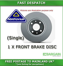 FRONT BRAKE DISC FOR AUDI A6 2.7 01/2005 - 4983