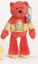 Retired Stuffed Plush Collectible Spain Euro Coin Bear Limited Treasures