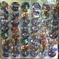 The Avengers 2 Age of Ultron 4.3CM 40x LOT PIN back BADGE BUTTON PARTY BAG