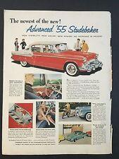 1955 Vintage Ad for Studebaker