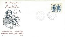 1962 #398 Jean Talon FDC with H & E cachet