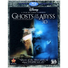 Ghosts of the Abyss Blu-ray 3D / DVD - NEW - Titanic Disney ++FREE SHIPPING++