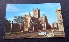 POSTCARD: THE ABBEY: BATH: COLOUR: POSTED: POST DATE 1968