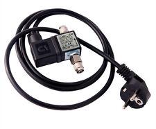 Aqua-SNO co2 Notte Spegnimento di qualità valvola solenoide brummfrei NUOVO & OVP