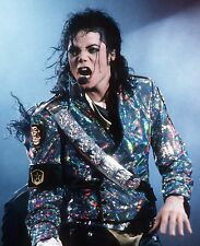 MICHAEL JACKSON IN CONCERT MUSIC KING OF POP 8X10 PHOTO PICTURE #2