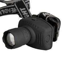 Strong 3W LED head lamp three fishing gear/telescopic zoom head lamp camping
