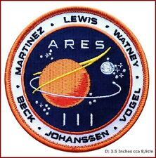 VELC. Martian Movie Space Exploration Unknown Universe Endurance Uniform Patch