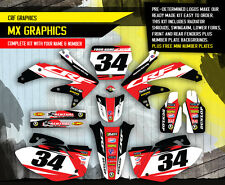 2005-2007 HONDA CRF 450 R DIRT BIKE GRAPHICS KIT CRF450R  MX MOTO DECALS