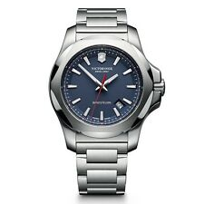 Victorinox Swiss Army INOX SS Blue 43mm 241724.1 Watch (Authorized Dealer)