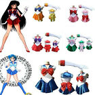 Sailor Moon Costume Cosplay Uniform Fancy Dress Up Sailormoon Outfit & Glove D